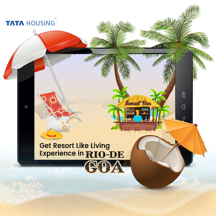 How We can Get Resort Like Living Experience in Tata Rio de Goa?